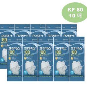 크리넥스 미세먼지 마스크 [무료배송] (KF80) 10P
